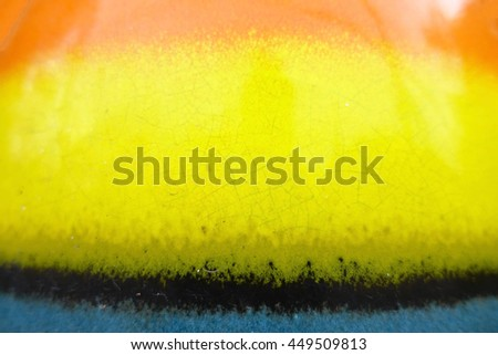 colorful ceramic big jug wall background,select focus with shallow depth of field:ideal use for background - stock photo
