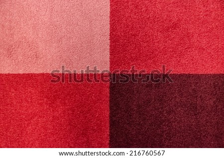 Colorful Chess board like carpet Background texture - stock photo