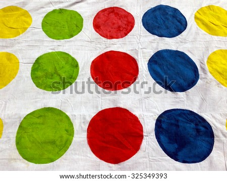 Colorful circles.Abstract background texture. - stock photo