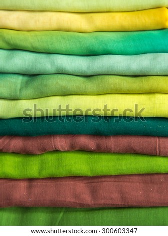 colorful cloth background - stock photo