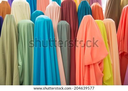 colorful clothing - stock photo