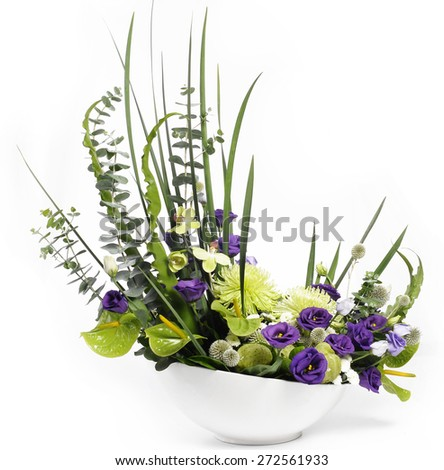 colorful flower - stock photo