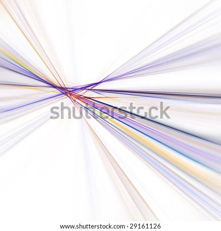 Colorful fractal design - stock photo