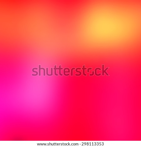 Colorful gradient abstract background with pink, red, yellow and orange colors - warm color background concept - stock photo