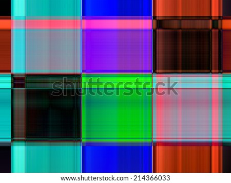 Colorful gradient stripe abstract background - stock photo