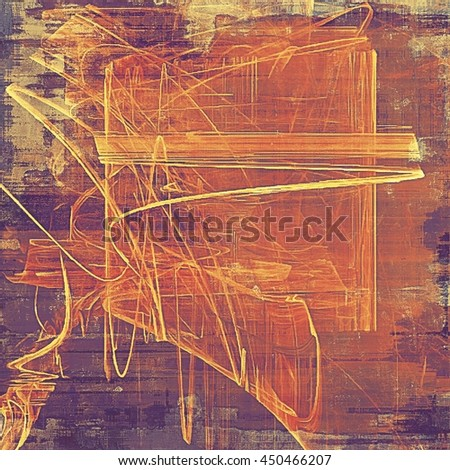 Colorful grunge background, tinted vintage style texture. With different color patterns: yellow (beige); brown; gray; red (orange); purple (violet); pink - stock photo
