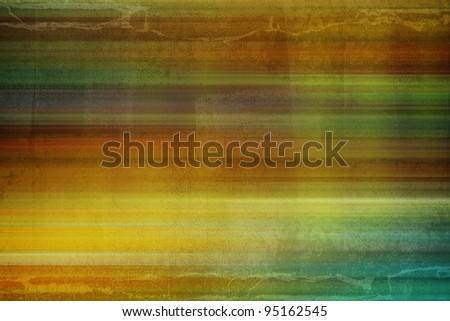colorful grunge stripy background - stock photo