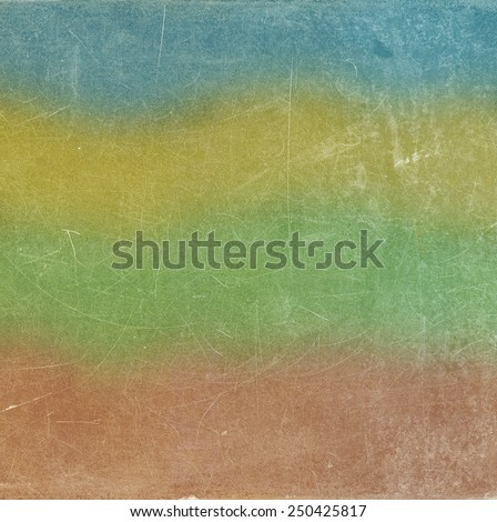 Colorful grunge wall background - stock photo