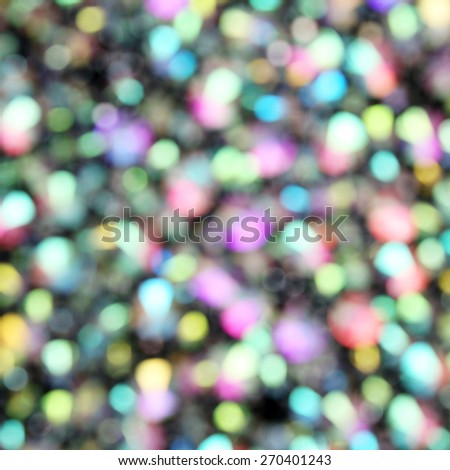 Colorful holiday abstract defocused background  - stock photo