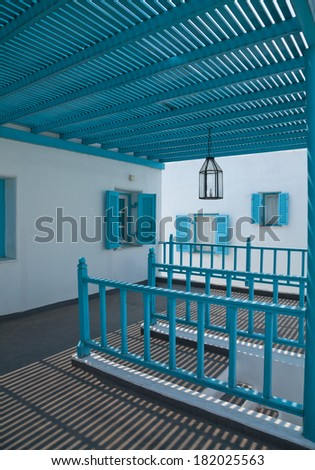 Colorful housing - stock photo