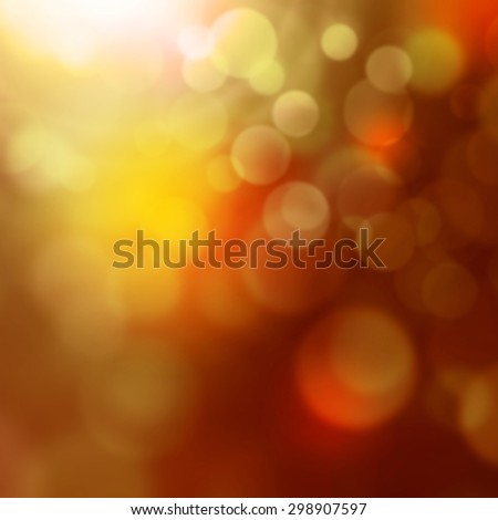 Colorful lights - abstract blurred background with bokeh effect - stock photo