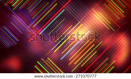 colorful lines abstract background - stock photo