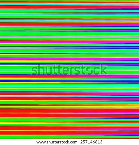 Colorful lines and stripes abstract background in square format. - stock photo