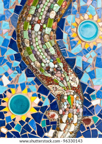 Colorful Mosaic - stock photo