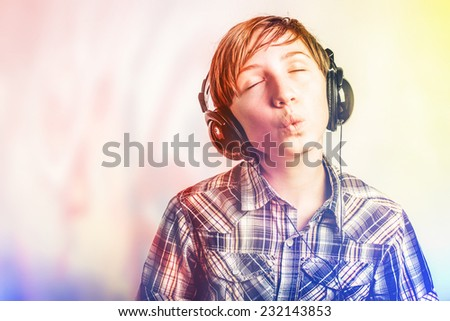 colorful music - stock photo