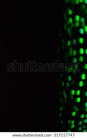 Colorful night of bokeh lights and Blured lights abstract background - stock photo