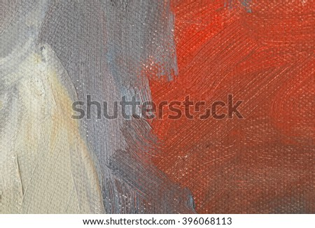 colorful on canvas. - stock photo