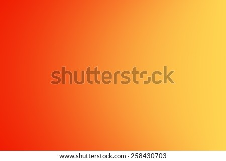 Colorful orange yellow abstract background with gradient, illustration - stock photo