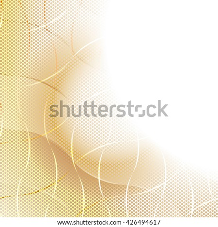 Colorful Pattern. Curve Structure Texture. Raster Illustration - stock photo