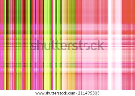 Colorful Plaid Background - stock photo