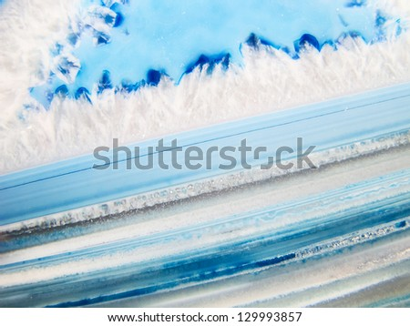 colorful polished natural agate stones - stock photo