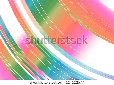 Colorful rainbow spinning movement Abstract Background texture pattern illustration - stock photo