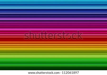 Colorful rainbow strip - stock photo