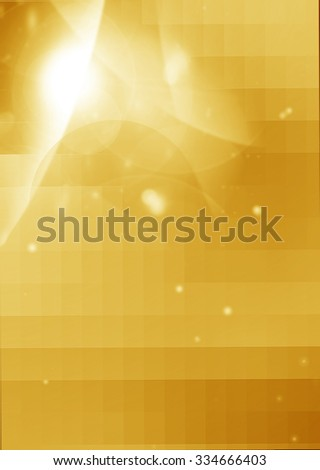 Colorful smooth twist light lines - stock photo