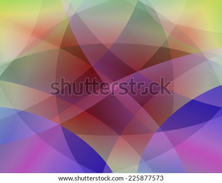 Colorful smooth twist light lines vector background  - stock photo