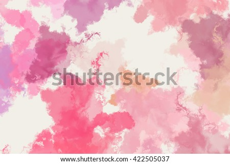 Colorful splashed paint background - stock photo