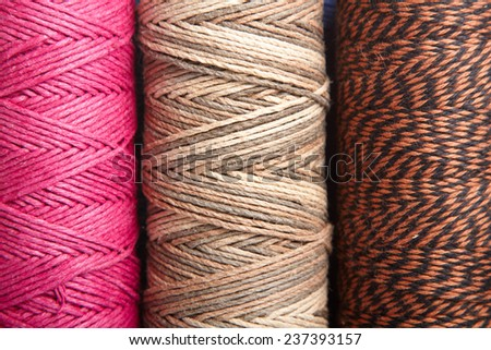 colorful strings  - stock photo