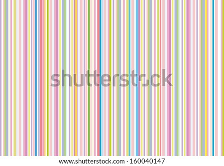 Colorful Stripe - stock photo