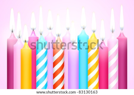 Colorful surprise in a happy birthday party. - stock photo