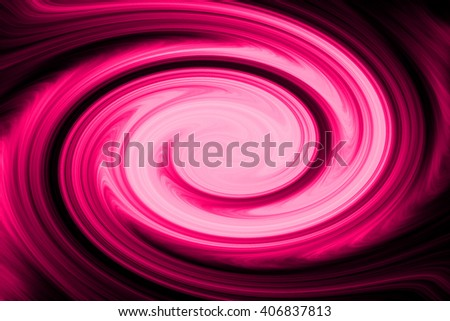 Colorful swirling pink light backdrop, spiral abstract background design, twist style. - stock photo