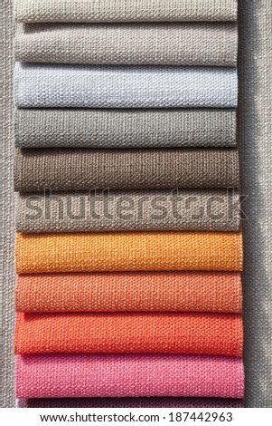 Colorful textile texture background - stock photo