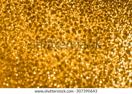 colorful twinkling lights bokeh light background ,gold bokeh - stock photo