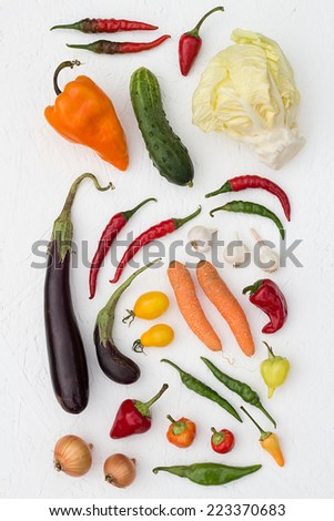 Colorful Vegetables - stock photo
