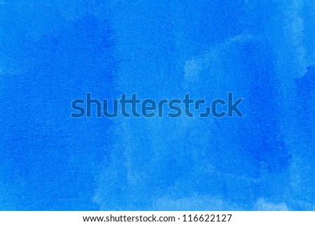 colorful water color painting on paper in many style - stock photo