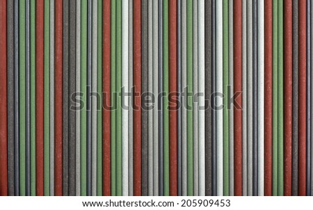 Colorful Welding Sticks Electrodes Background - stock photo
