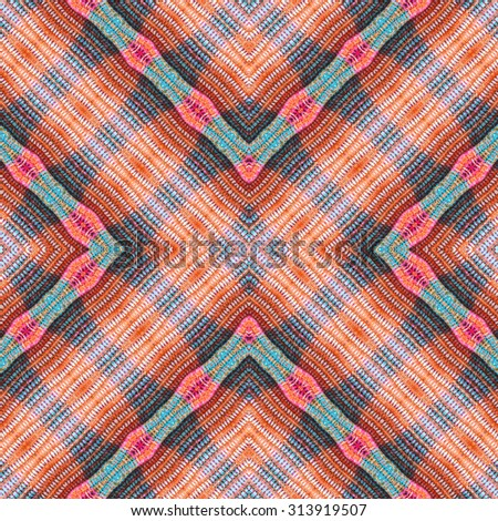 colorful woven fabrics seamless,background - stock photo