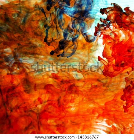 Colors abstract - stock photo