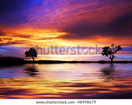 colors of nature - stock photo