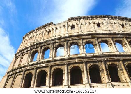 Colosseum, Rome, Italy. - stock photo