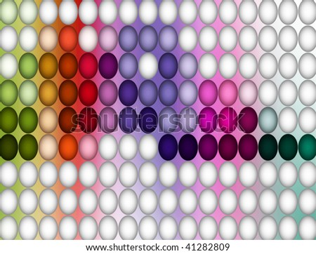 colourful dots - stock photo