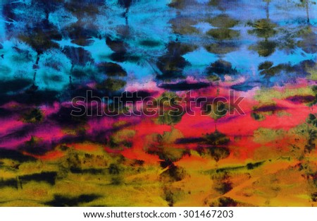 colourful tie dyed pattern abstract background.  - stock photo