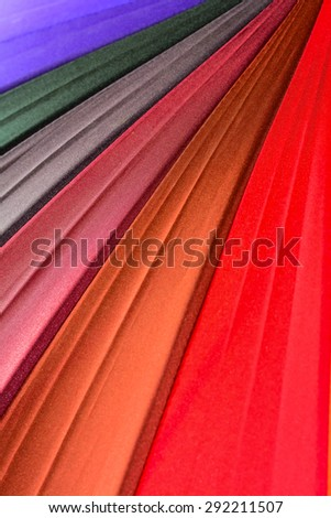 colourful  umbrella   - stock photo