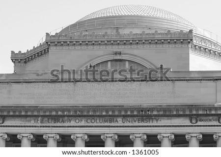 Columbia University - stock photo