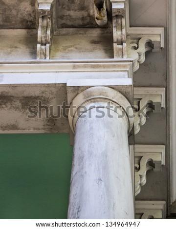 Column & Corbels - stock photo