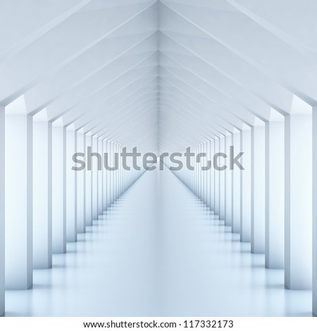 Columns Hall - stock photo