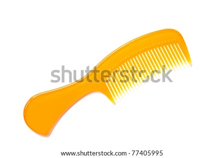Comb is an accessories for styling hair - stock photo